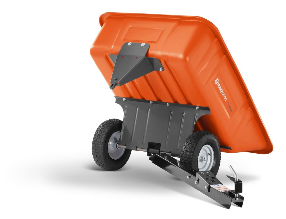 Husqvarna 10' Poly Swivel Dump Cart (588208802)