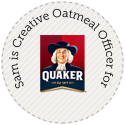 Sam is Quaker's Chief Oatmeal Officer