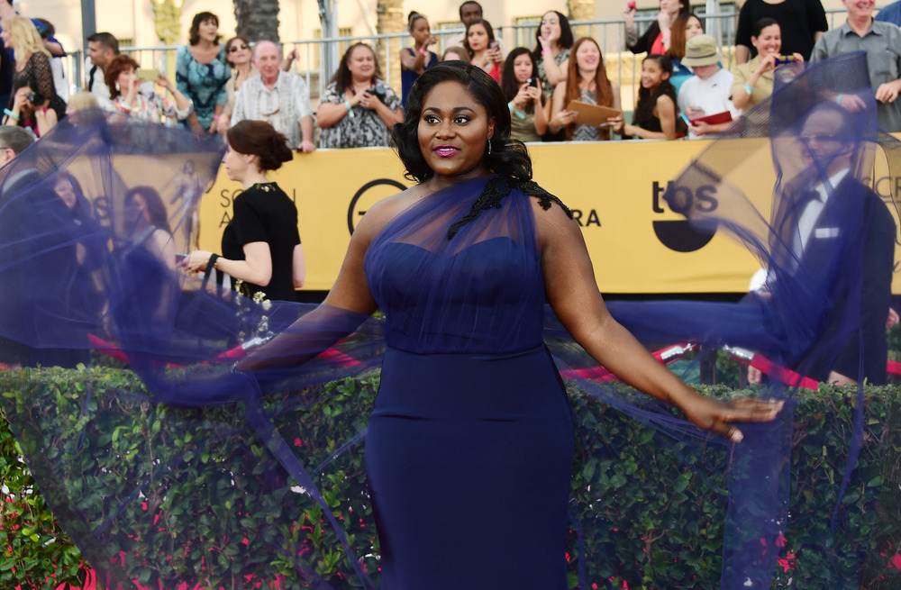 celebritiesofcolor :       Danielle Brooks arrives for the 21st Annual Screen Actors Guild Awards