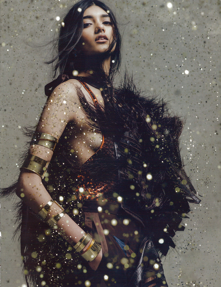 pradafied: Neelam Johal photographed by Carlos Serrao for Wonderland Magazine S/S 2014