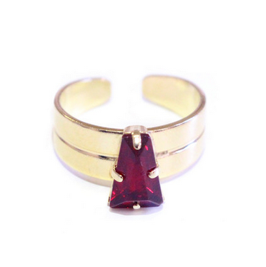 The Red Velvet Candy Jewel Ring .  Shop for it  here .