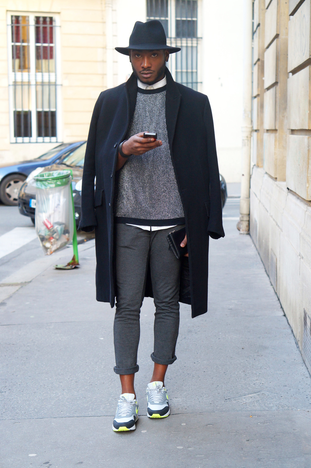 blackfashion: Harvey, 22, Paris, http://www.harveymm.com instagram: Harvey_mm