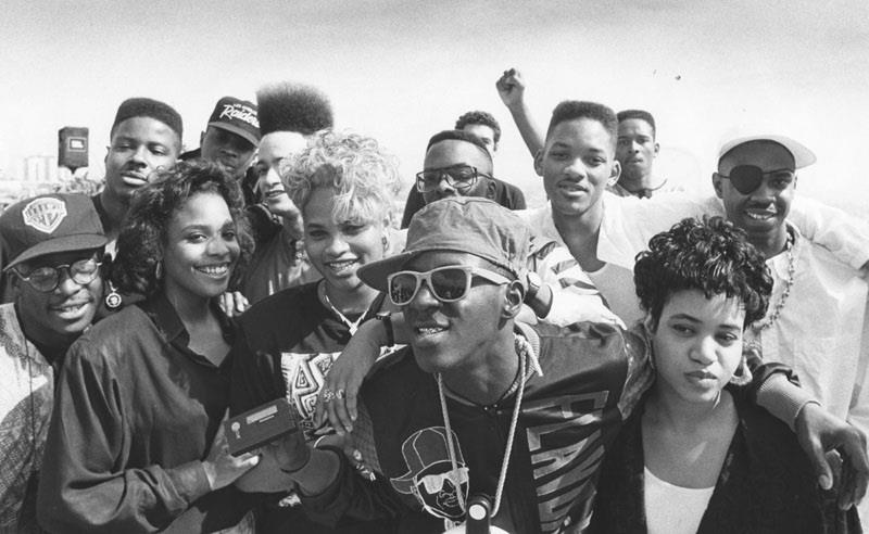 knowledgeequalsblackpower :      upnorthtrips :      Kid N Play.   Salt and Pepa.   Fresh Prince and Jazzy Jeff.   Chuck and Flav.   & Slick Rick The Ruler.       This is from where they all boycotted the Grammys for not televising the rap categories in 1989.   And, yeah.. I saw people getting all excited about some of their faves (mostly Kendrick Lamar) getting nominated this year. You may not even get to see him win it. Even though hip hop is the most popular music genre around the world right now, the Grammys are   STILL    infamous  for not televising rap categories like Best Rap Album, Best Rap Song, Best Rap Performance.       True.