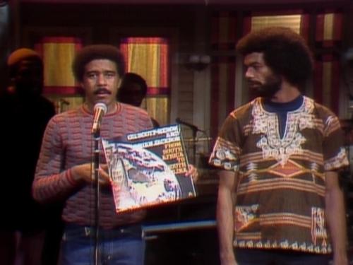 "queennubian :      soulknowledge :      ""Saturday Night Live"" Richard Pryor/Gil Scott-Heron   ""1975""      EPIC"