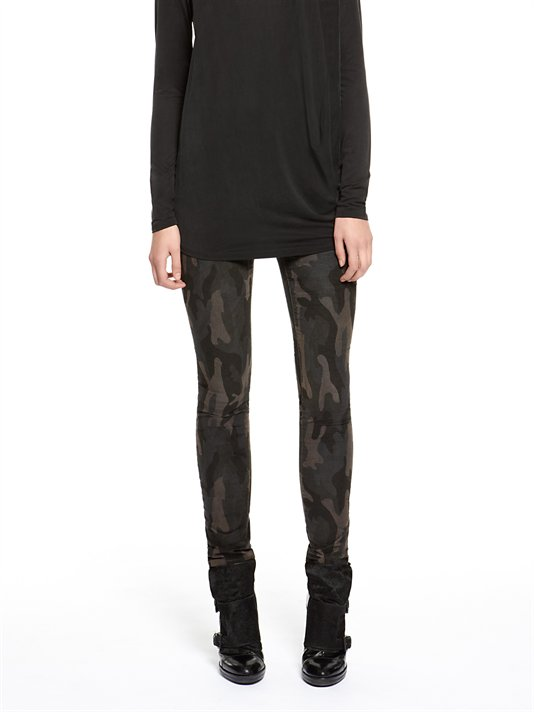 Must have these darker (more subtle)   camo cord leggings by DKNY jeans  . They're $79.50.