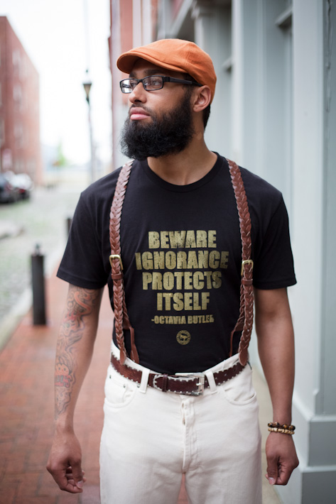 Octavia Butler Tee Submitted by: Philadelphia Print Works Photographed by: Adachi Photography Styled by: Iye Yindae, Cultured Couture Gallery