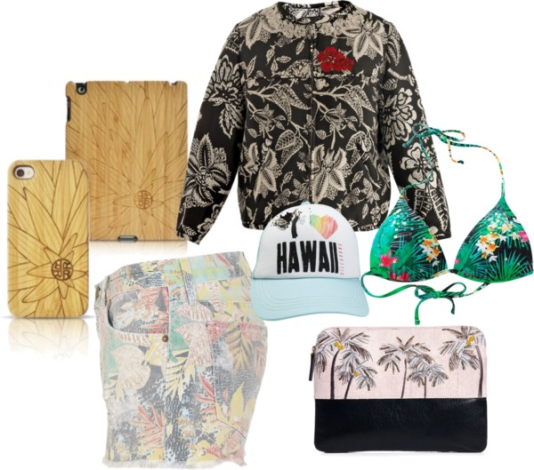 tr3nd-dot-co :     Its back!! Tropical prints and palm trees are sweeping the runways this spring!
