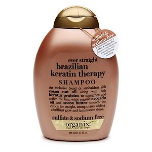 OGX Shampoo, Ever Straight Brazilian Keratin Therapy