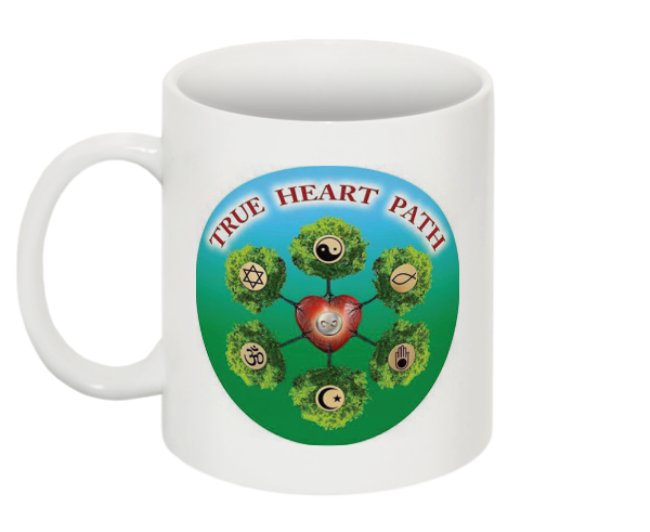 Savor every MOMENT!     True Heart Path Mug- $14.99