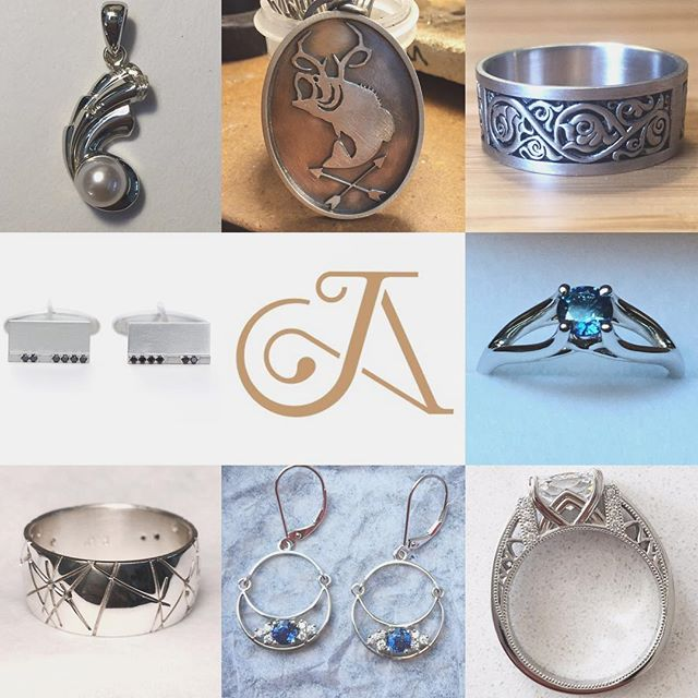 Looking for something custom? ✔️ We got ya covered. From engagement rings to cufflinks, platinum, gold, silver, diamonds, precious gems... JAJ can make it happen. Just ask! #jewelry #custom #custommade #customjewelry #nj #jerseycity #nyc #oneofakind
