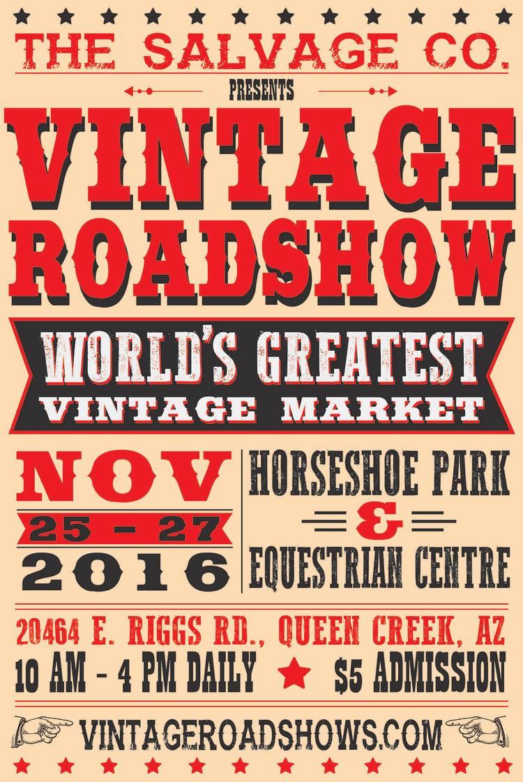 Vintage Roadshow •2016