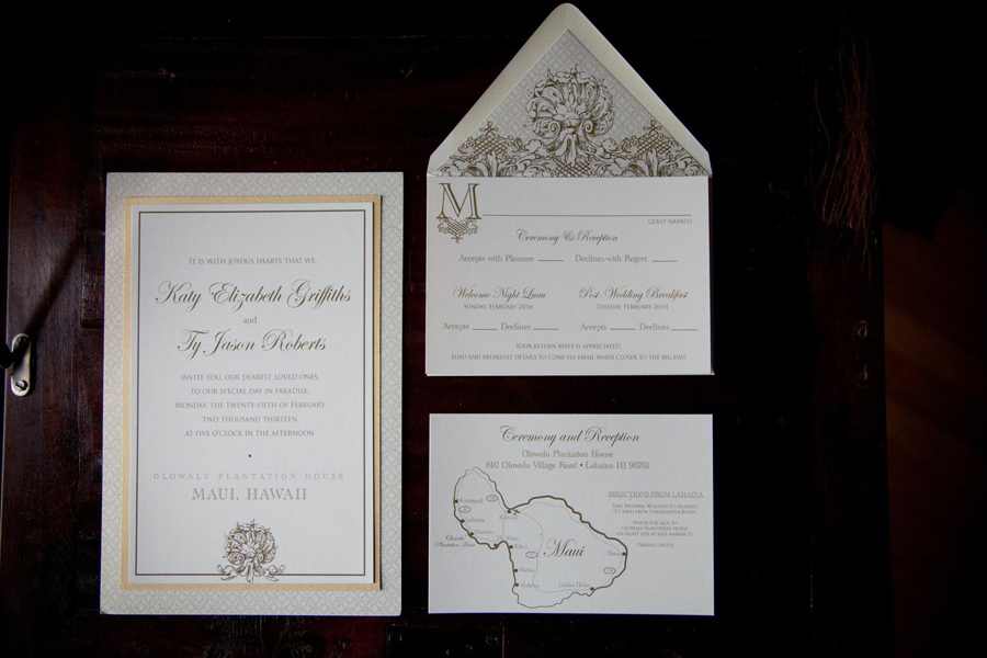 2 - Invitation which came in a box