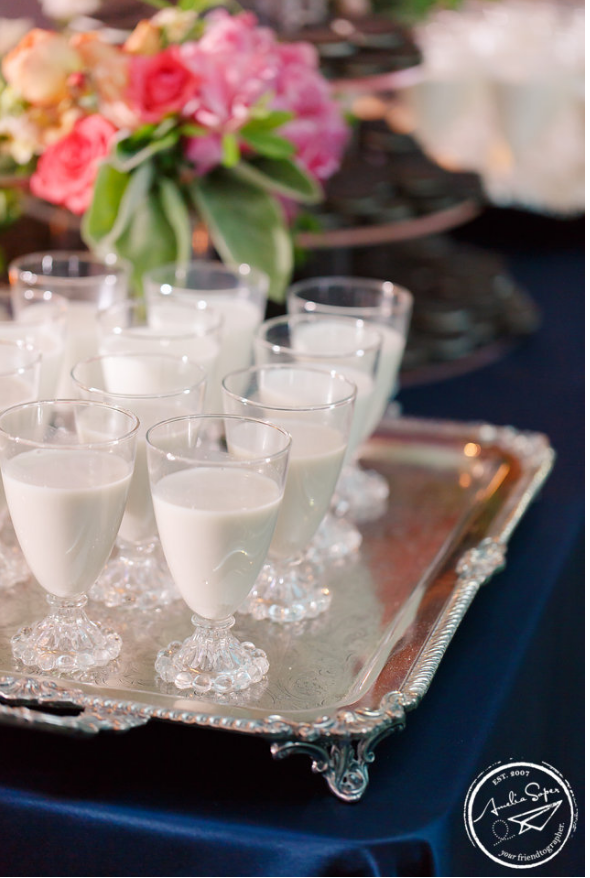 cookies and milk wedding