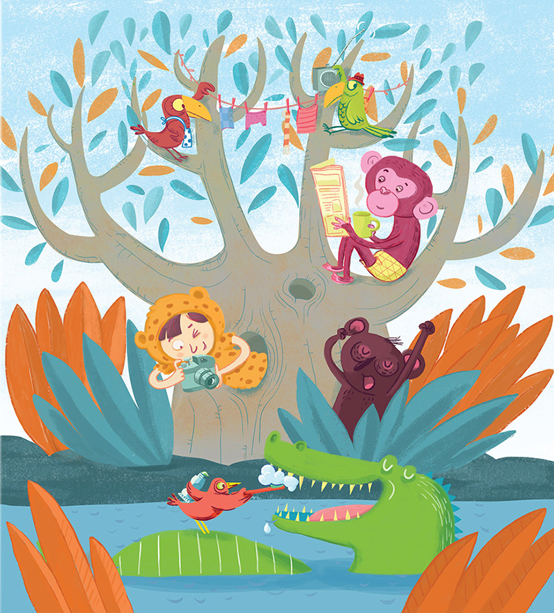 animals in the forest