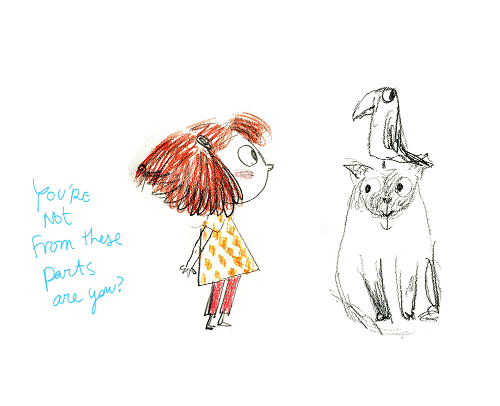 Gambatesa-Girl-cat&parrot.jpg