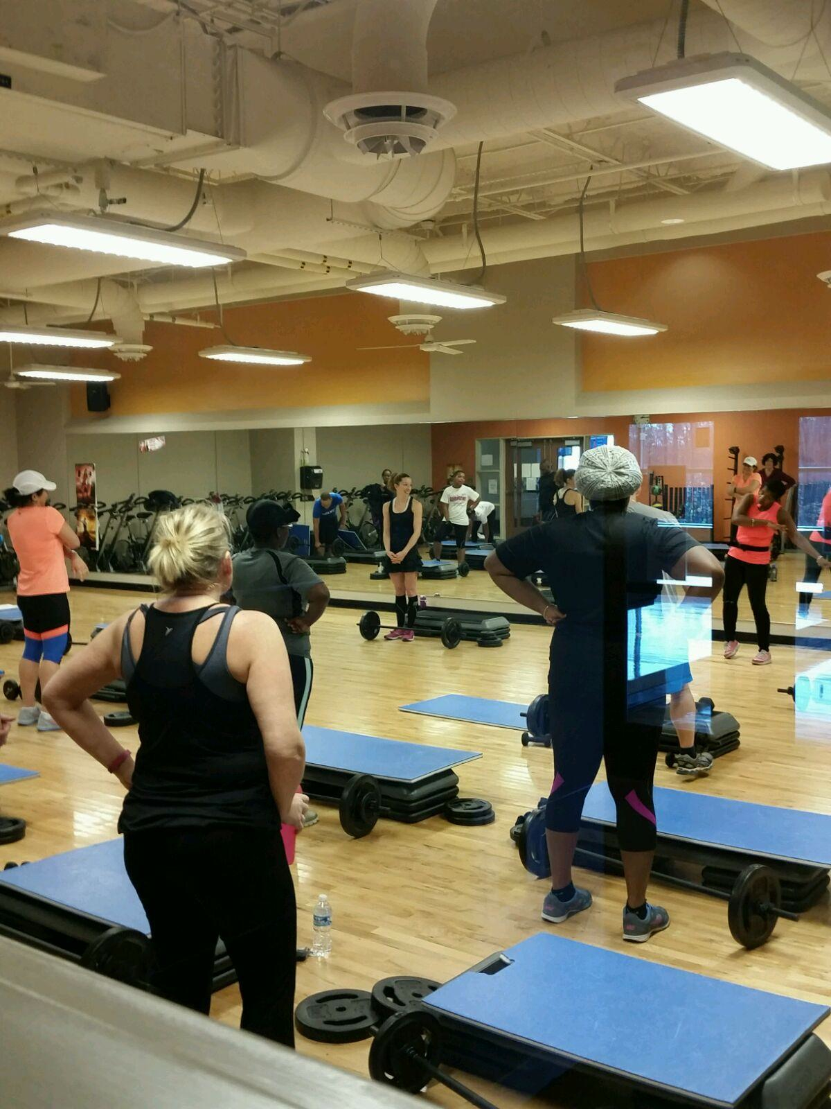 Shadowing in BodyPump class