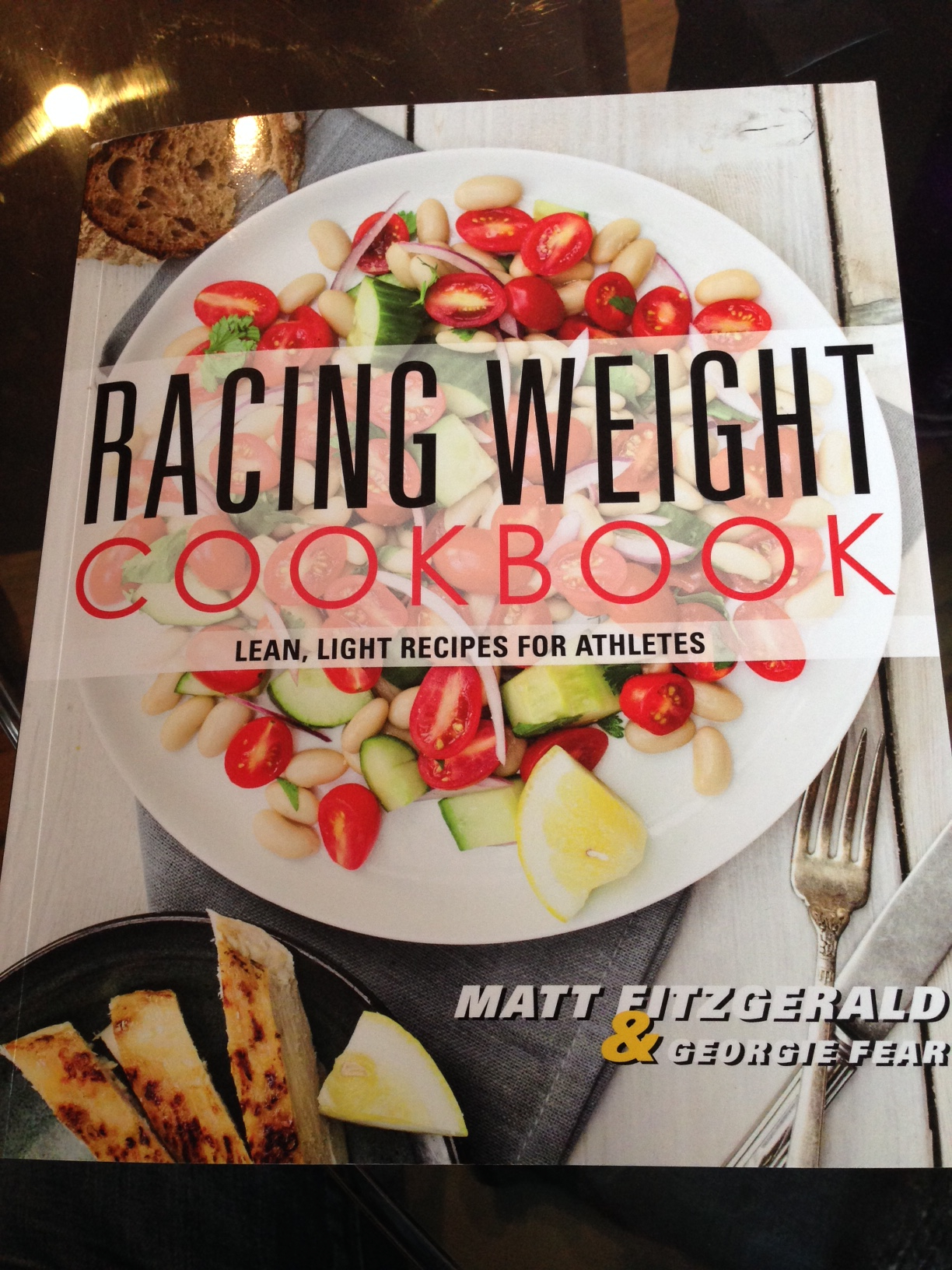 Matt Fitzgerald's cookbook - so far, so good!
