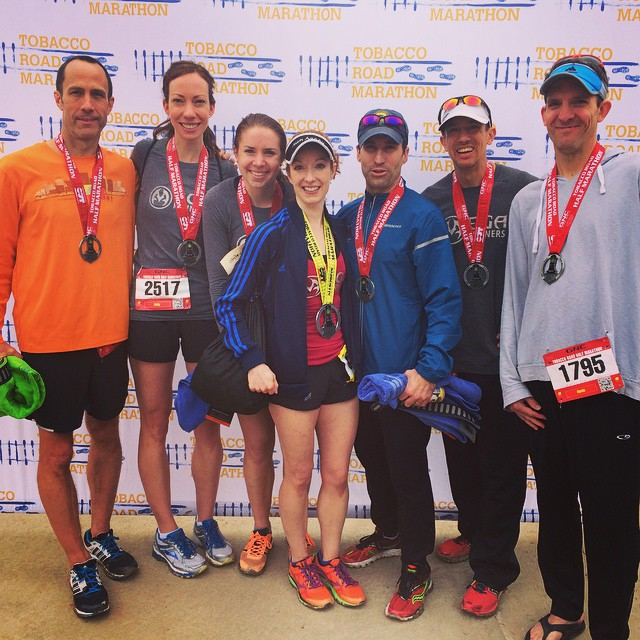 The RVA MegaRunners team!  Thankful for these awesome (and speedy) training partners.