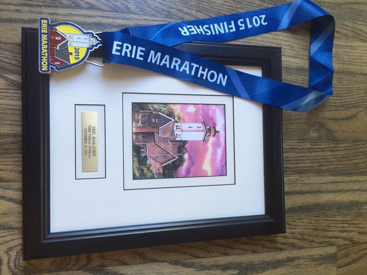 The beautiful framed print for 3rd Female Overall