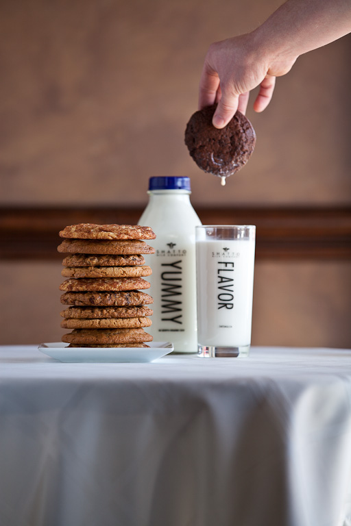 Tasty treats from both Dolce Baking and Shatto Milk.