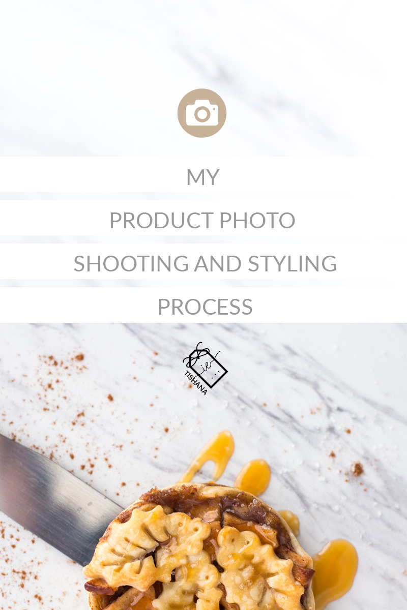 My Product Photo Shooting And Styling Process - Shooting with the intent for creating graphics