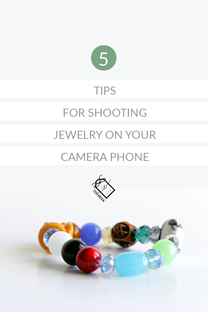 5 Tips For Shooting Jewelry On Your Camera Phone -