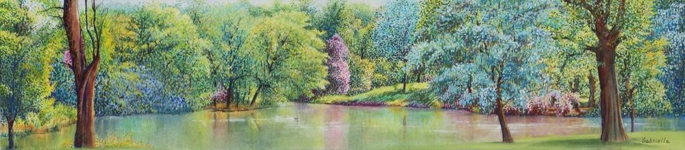 Kenwood Lake, Summer
