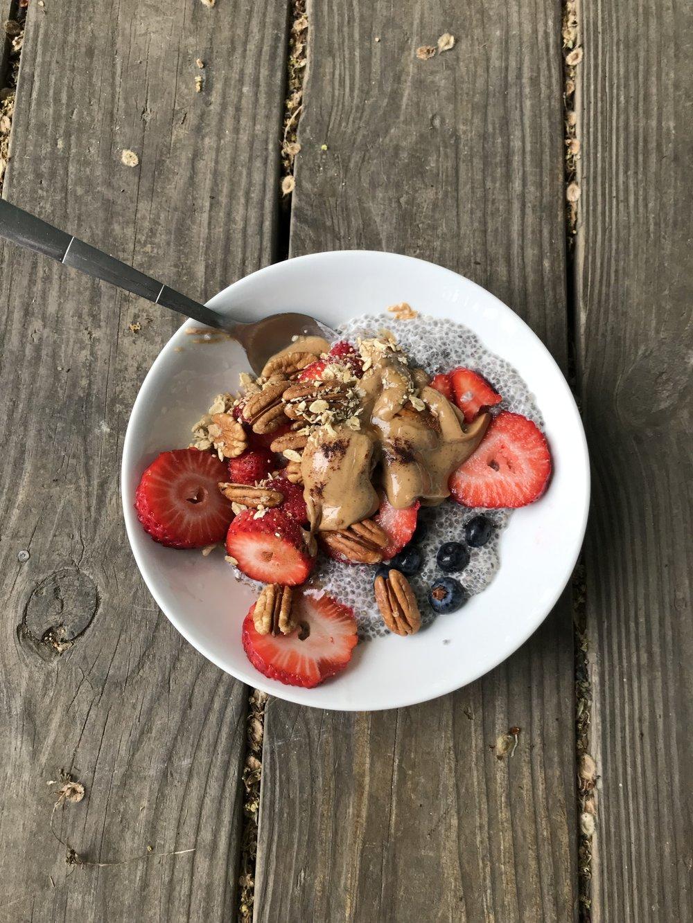 My healthy ass breakfast!