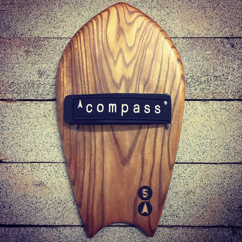 Compass Handplanes bodysurf bodysurfing wooden handplanes for surf big easy surf handplaning handboard handmade workshop for sale in shops