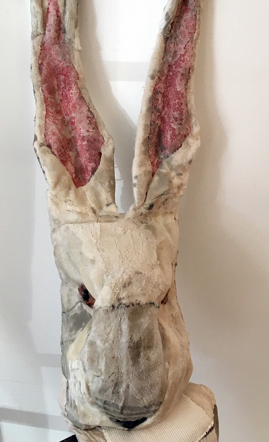 Rabbit Skin Rug