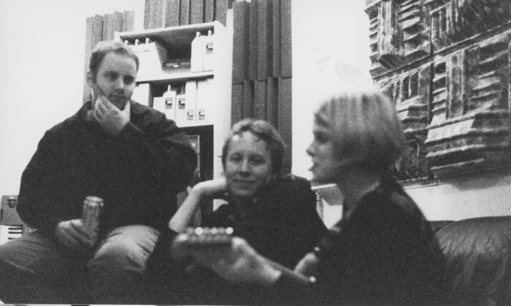 State Flowers in the studio, 1998