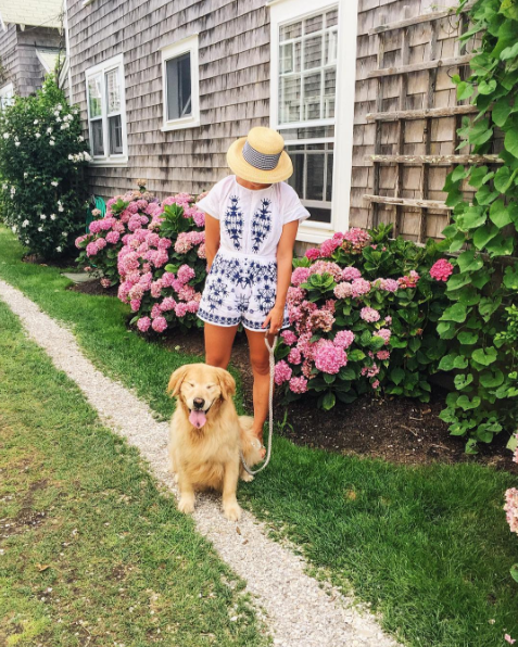 Following along on the always inspiring  Abby Capalbo 's trip to Nantucket