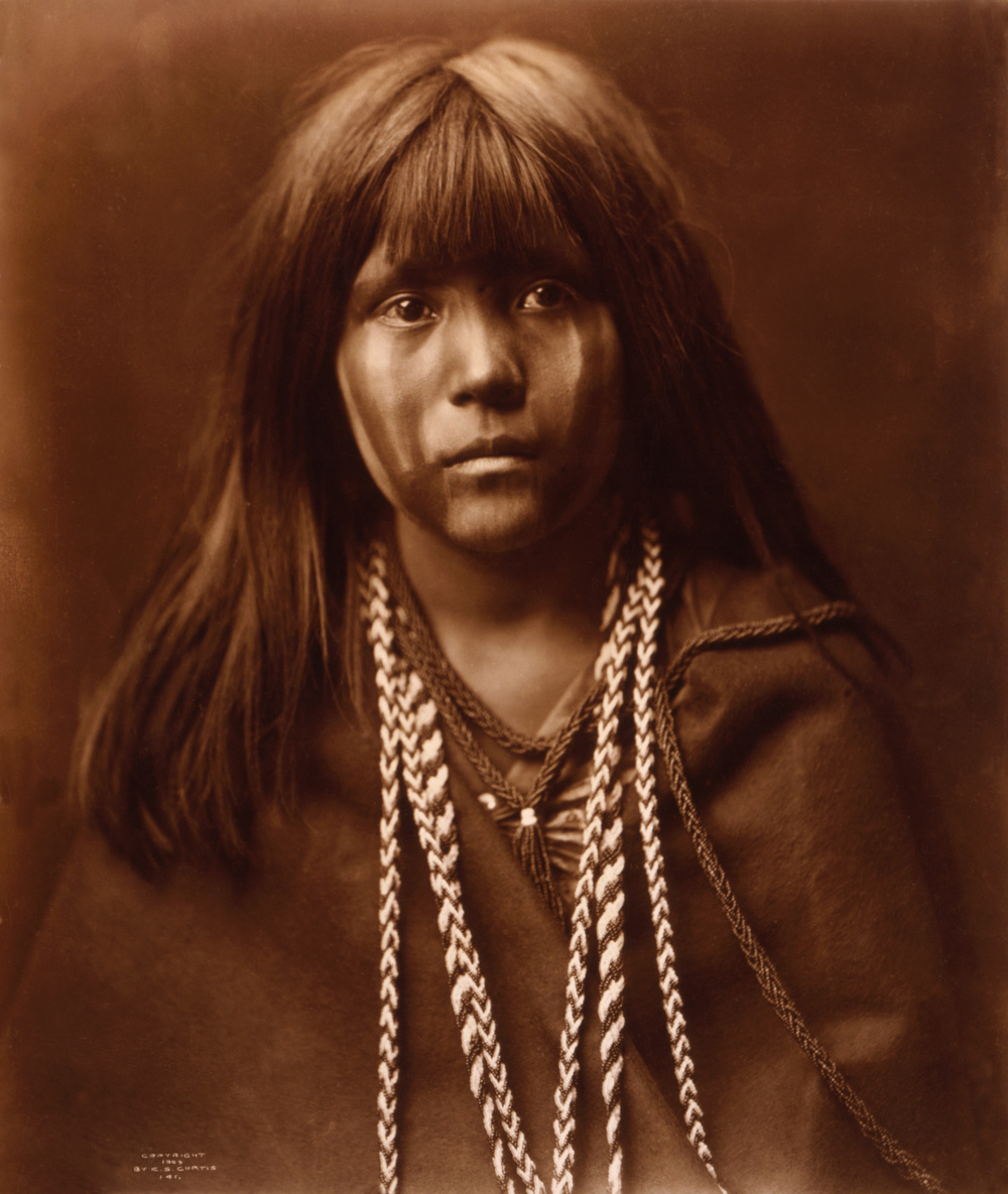 MOSA (MOJAVE GIRL), 1903, PHOTOGRAPH BY EDWARD CURTIS