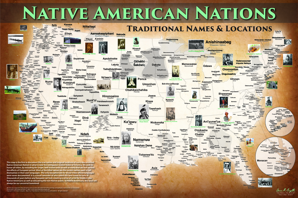 Map courtesy Aaron Carapella, Native mapmaker. Full size copies may be purchased at www.tribalnationsmaps.com .