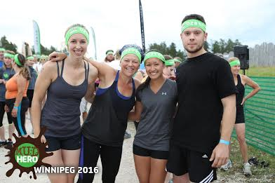 The crew: clean and smiling right before the race started
