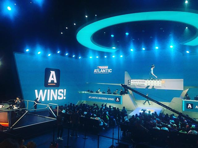 Atlantic Division getting the dub for this years @playoverwatch #allstargame - Just one of the few ways I celebrated another trip around the Sun 🌞🎂🎧🤓🎮