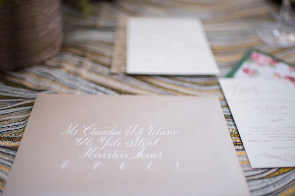 daytoremember.net | Lindsay Elizabeth Photography | Wedding Stationery | A Day To Remember Houston Wedding Planning and Design
