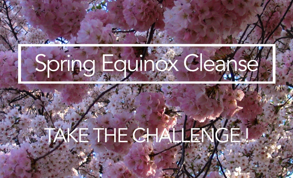 "Harness the power of the Spring Equinox to boost your cleanse with extra ""Oomph""!"