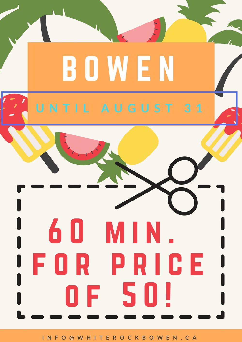 Immediate Pain Relief by White Rock Bowen. Serving White Rock & South Surrey, BC.
