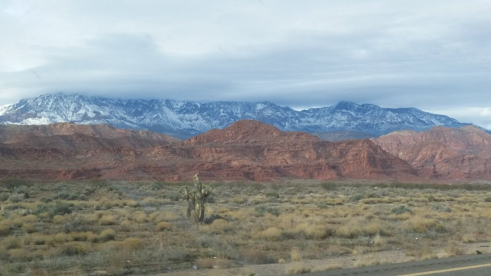 Between Nevada, Utah and Idaho