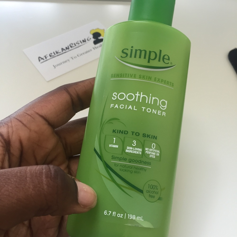 Simple Soothing Facial Toner USD$6.83-12.09