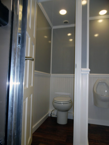 Men's Toilet Stall and Urinal