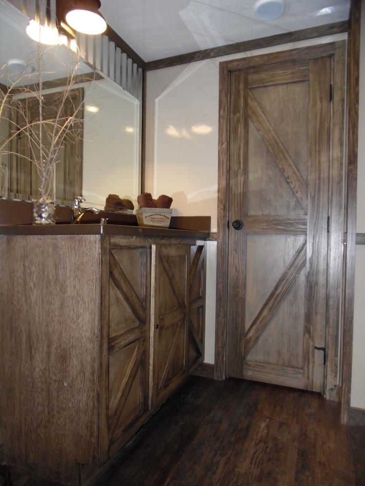 Rustic Barn Wood Look