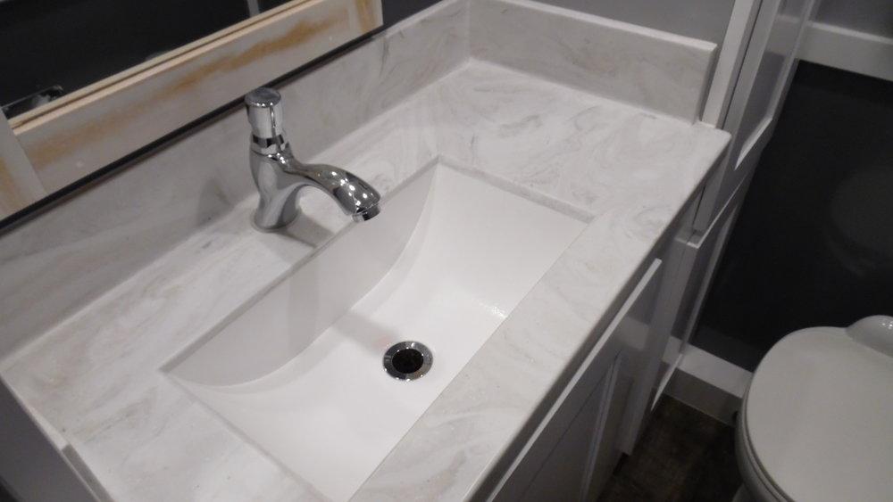 Magnolia Sink