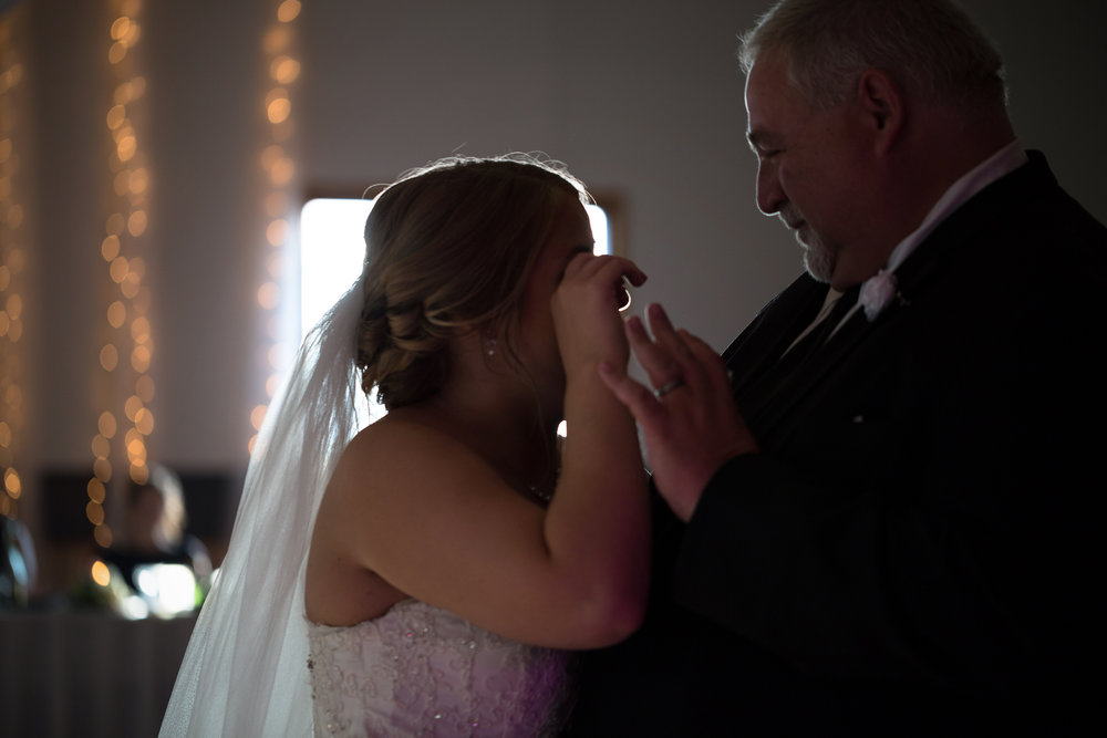 Danielle and father first dance - Vow Media Group Chicago Photographers