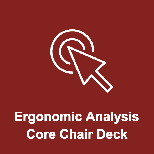 Proposed findings to client for the Core Chair ergonomic analysis.