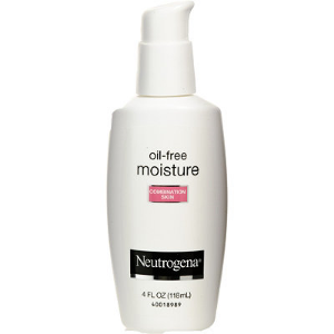 Moisturizer:   Neutrogena  Oil-Free for Sensitive Skin