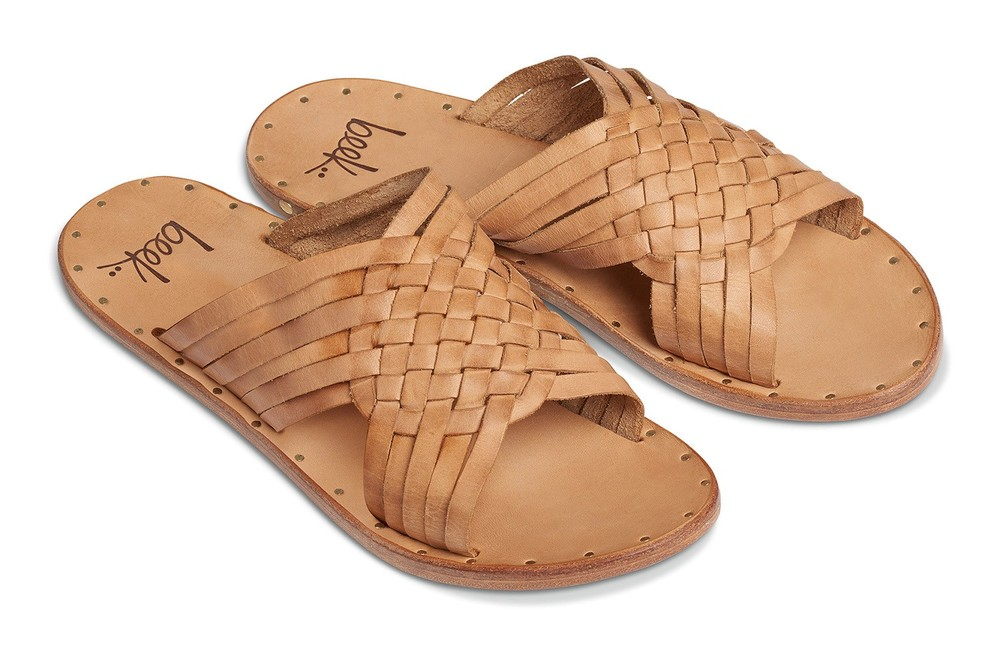 Beek  sandals are 100% leather and are made to last.  They also have great arch support, which so many sandals lack.  With every pair of sandals puchased, Beek donates a meal to a child in need.