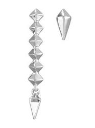 Rebecca Minkoff, Linear Stud Mismatched Stud Earrings, $9.60