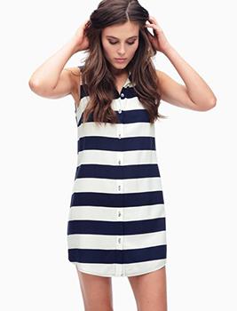 Splendid Capistan Rugby Stripe Dress, $158